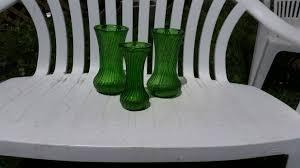 Florist Vases 3 Ribbed Hoosier Florist Vases