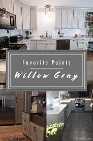 grey stained kitchen cabinets diy willow gray is one of our favorite cabinet paints it makes