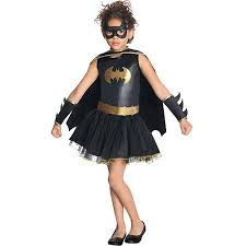 Walmart Halloween Costumes Teenage Girls Batgirl Tutu Child Halloween Costume Walmart