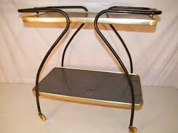 Kitchen Utility Cart by Vintage Mid Century 1950 U0027s 2 Tier Kitchen Utility Rolling Serving