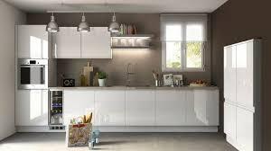 cuisine blanc laqué cuisine americaine blanc laqué photos de design d intérieur et