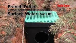 french drain help soil seperator is used to help keep dirt out of