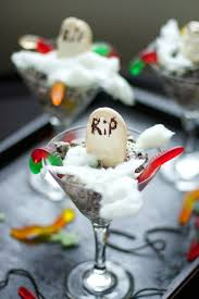 halloween dirt cake dessert popsugar food