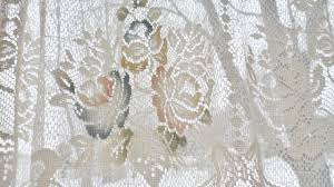 White Lace Shower Curtain With Valance by Curtain Lace Decorate The House With Beautiful Curtains