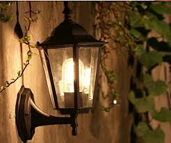 Pendant Porch Light Zhma Outdoor Wall L Retro Garden Porch Lights Black Hallway