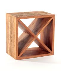 Recycled Wood by Recycled Wood Wine Cube Kurtz Collection
