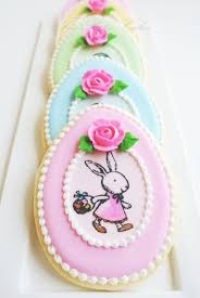Easter Edible Cake Decorations by 96 Best Cut Out Cookies Easter Images On Pinterest Easter