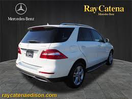 preowned mercedes suv certified pre owned 2014 mercedes m class ml 350 suv in