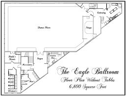 ballroom floor plan floor plans
