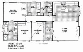 54 awesome 3 bedroom modular home floor plans house floor plans
