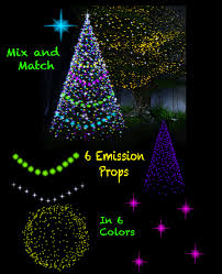 christmas and fairy star lights for daz iray emissive light props