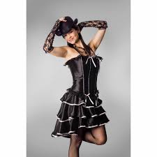 deluxe plus size halloween costumes lava diva can can dancer corset women u0027s plus size halloween