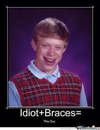 Boy With Braces Meme - idiot braces by memeslolz500 meme center