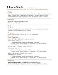 online resumes for free resume template and professional resume
