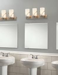 Brushed Nickel Bathroom Cabinet Bathrooms Design Bathroom Bulbs Brushed Nickel Vanity Light