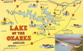 cove lake of the ozarks map lake of the ozarks map with cove names lake of the ozarks map