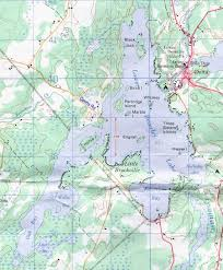 Lbl Map By Earl Patric Lower Beverley Lake Association