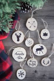 how to make rustic twig ornaments