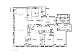 New York Condo Floor Plans by 737 Park Avenue Upper East Side Manhattan Scout