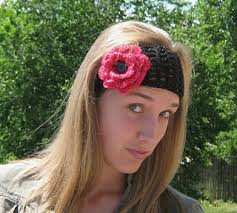 crochet flower headband crochet headbands crocheting free hairbands patterns for crochet