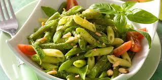 cuisine haricots verts duo haricots verts et pâtes au basilic facile et pas cher recette