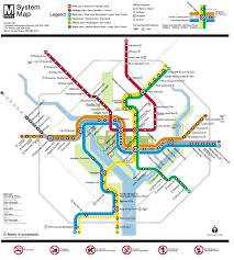 Austin Metro Rail Map Wmata Unveils A New And Improved Metro Map