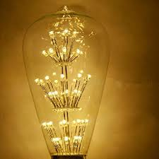 Decorative Chandelier Light Bulbs by Kiven 3w Led Decorative Vintage Edison Light Bulb Squirrel Cage