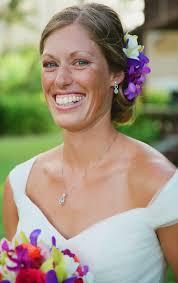 natural look bridal makeup and hair for a kauai destination wedding