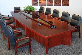wood conference tables for sale chicago conference table