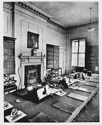 plate 120 no 10 downing street cabinet room british history