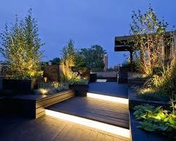 led patio lighting ideas u2013 contemplative cat