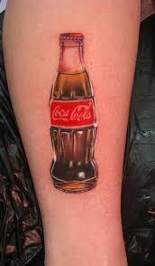 cool looking coca cola tattoo tattoomagz