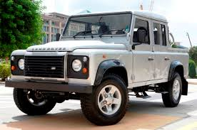 range rover defender pickup land rover defender 110 double cab pick up motor trader car news