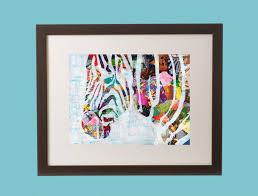 Bohemian Nursery Decor by Zebra Wall Art Zebra Print Baby Nursery Gift Safari
