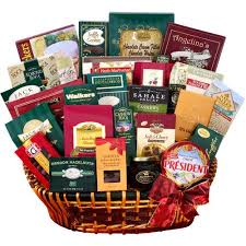 gourmet gift basket alder creek extravagant gourmet gift basket walmart