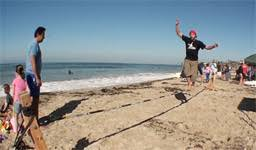 Backyard Slackline Without Trees Diy On How To Do A Slackline With No Trees Projects Pinterest