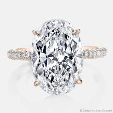 oval cut engagement rings chelsea jean dousset diamonds engagement ring