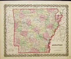 map of arkansas prints arkansas page