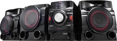 amazon com lg electronics cm4360 230w hi fi entertainment system lg 700w mini shelf system black cm4550 best buy