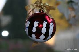 of great ideas five fingers handprint snowman ornament