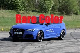 audi rs3 blue 2016 nogaro blue audi rs3 8v 367ps sound