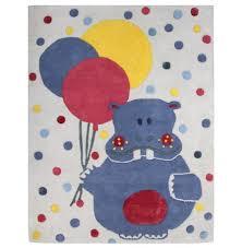 tapis chambre fille tapis chambre bébé pas cher hippopotame eliot nattiot fille garçon
