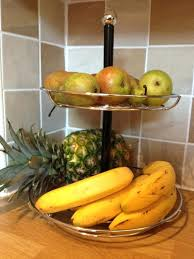 modern fruit holder fruit holder for kitchen or modern kitchen design with two tier