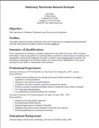 Example Technical Resume by Nonsensical Veterinary Technician Resume 11 Vet Tech Resume Skills