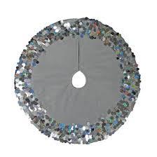 18 mini tree skirt silver sequin wondershop target