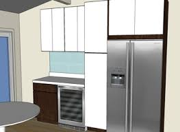 Home Bar Cabinet With Refrigerator - refrigerator wall cabinet kitchen bathroom remodeling tips you