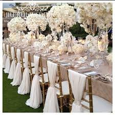 chaivari chairs 80pcs free shipping white chiffon chiavari chair sash chair cover