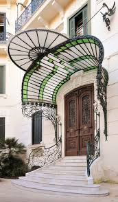 Art Deco Balcony by 29 Best Art Nouveau Images On Pinterest Windows Architecture