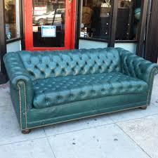 Tufted Vintage Sofa by Sofas Center Please Publish This Green Velvet Chesterfielda