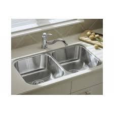 Sterling UCLNA McAllister Stainless Steel Undermount Double - Sterling kitchen sinks